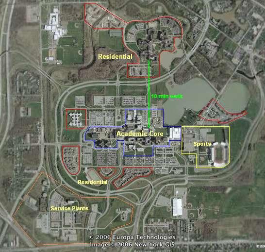Suny Buffalo North Campus Sub Urban Planning At Its Worst
